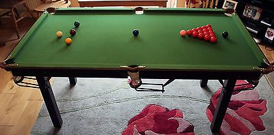 6ft Snooker/Pool Table with all Equipment Provided