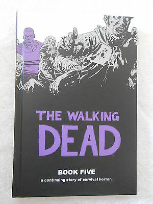 Walking Dead Deluxe Edition Book Five 5 HB Graphic Novel