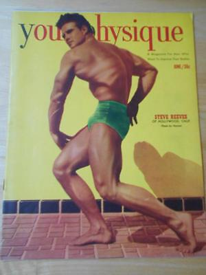 YOUR PHYSIQUE bodybuilding muscle magazine/STEVE REEVES 6-51