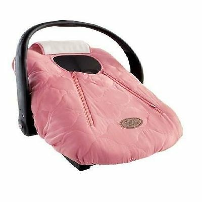Pink Quilt Cozy Cover Car Seat Carrier Baby Shower Gift For Winter Infant New