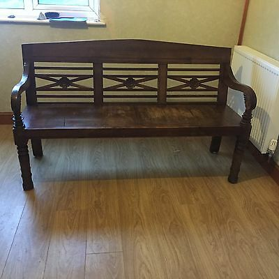 Welsh Vintage Church Bench