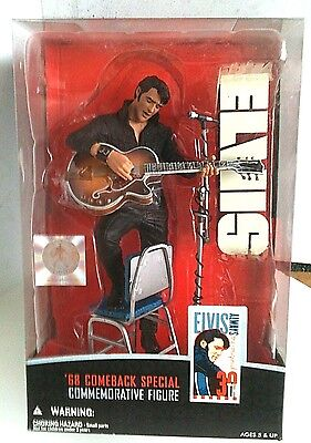 Elvis '68 Comeback Special Figure by McFarlane Toys Mint Unopened