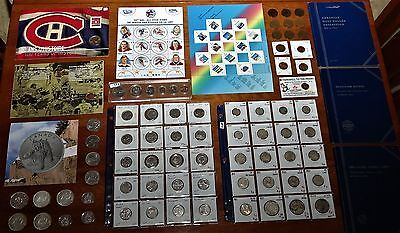 LOT of Canadian Coins, Banknotes, Medals, Stamps & other Collectibles