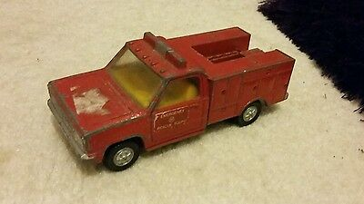 Dinky toys fire paramedic truck