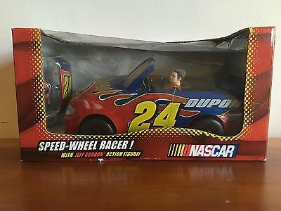 "Nascar ""Jeff Gordon"" Speed-Wheel Racer Toy Car Model With Action Figure"