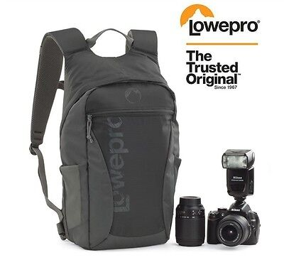 Lowepro Photo Hatchback 22L AW DSLR Camera Bag with All Weather Cover, Grey