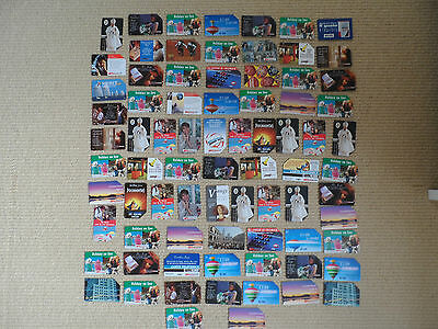 Large  Collection Of Vintage Collectible Phone Cards