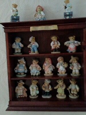 Cherished teddies across the sea with cherished teddies and wall unit