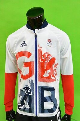 UK adidas Olympics Rio 2016 Team GB Tracksuit Sweatshirt SIZE M (adults)