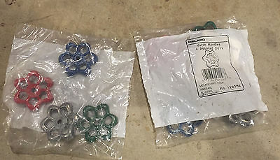 8 melard valve Handles Knobs new in package steampunk blue green red silver