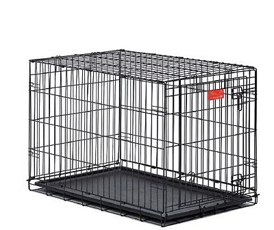 MidWest Life Stages Folding Metal Dog Crate #3G3