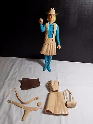 marxs JANE WEST DOLL WITH ACCESSORIES-COWGIRL- FIGURE