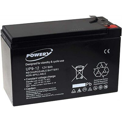 Batterie gel-plomb pour USV APC Power Saving Back-UPS Pro BR550GI 9Ah 12V 12V 9A