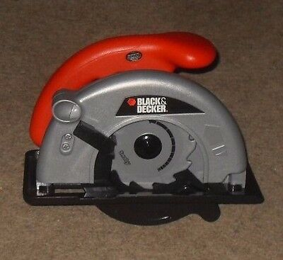Smoby Children's Black and Decker Tool Battery Powered Circular Saw - Toy