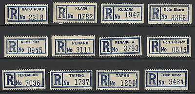 Malaysia Registered / Registration Labels
