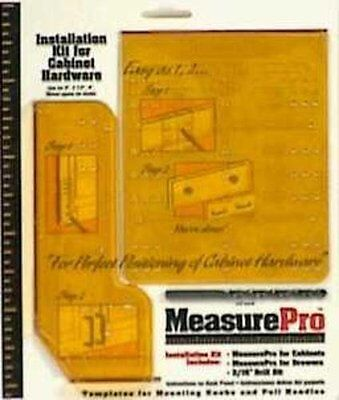 """Measure Pro Installation Guide Kit For Cabinet Hardware 3/16"""""""