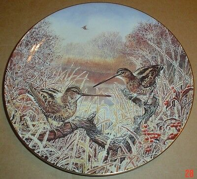 Wedgwood Collectors Plate A FROSTY DAWN - SNIPE