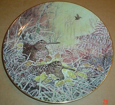 Wedgwood Collectors Plate WOODLAND RETREAT - WOODCOCK