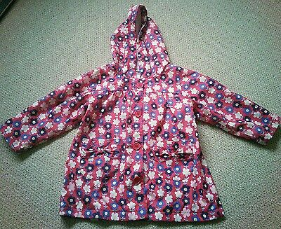 Girls Age 3-4 Jo Jo Maman Bebe Waterproof Coat