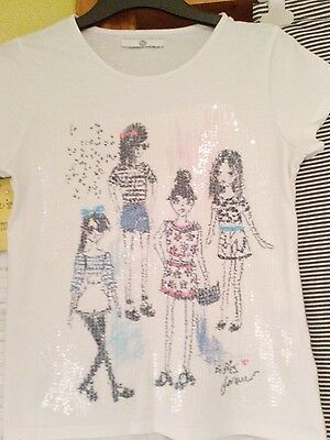 Girls M&S top and leggings age 11_12