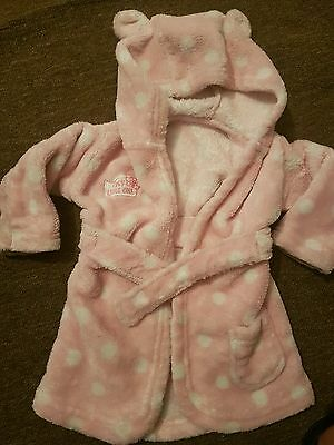 baby girl dressing gown 0-6 months