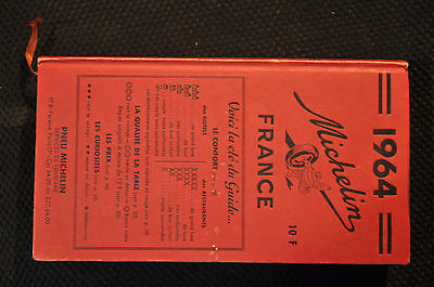 Guide Michelin Rouge 1964
