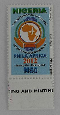 Nigeria 2012 MNH African Exhibition of Postage Stamps