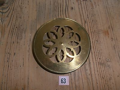Brass Clock Back Door