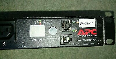 APC Switched Rack PDU, 1U, 16A, 208/230V (8)