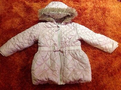 Next Girls Coat, Jacket 2-3 Years Pink