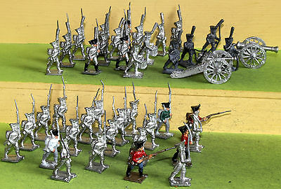 25mm minifigs napoleonic russian infantry and artillery wargames