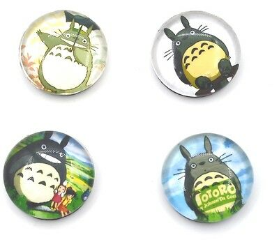 Anime Studio Ghibli Totoro Fridge Magnets Set of 4 Unisex Fan Gift