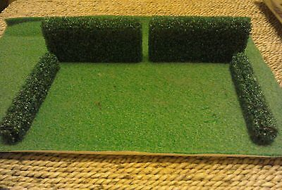 dolls house 12th scale garden hedges