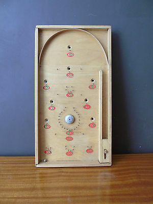Vintage bagatelle early pinball decorative game
