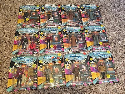 Star Trek The Next Generation TNG Lot 12 (+1) 1992-1994 Playmate Action Figure