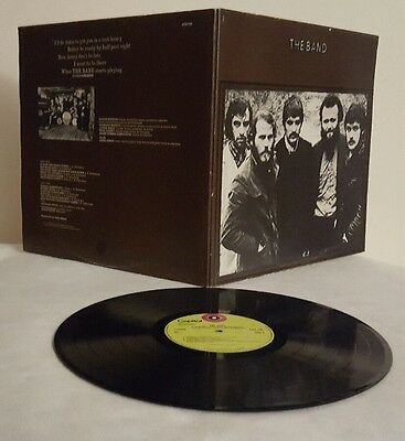 ** The Band ** A Capitol Records Stunning Condition 1969 First Press Vinyl LP **