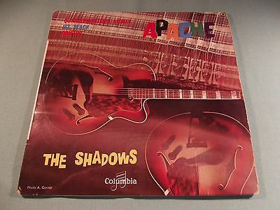 The Shadows - 'Apache' 45 rpm Extended Play - Made in France