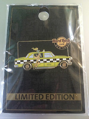 Hard Rock Cafe - New York Taxi 2015 Limited Edition Pin Badge