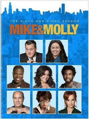 Mike  Molly: The Complete Season 6 Six 6th Sixth Final (DVD 2016 2-Disc Set) New