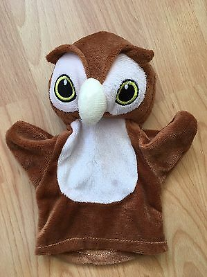 Owl Soft Toy Hand Puppet