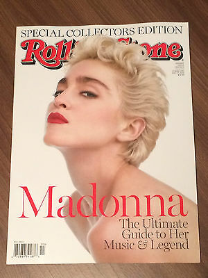 Madonna - 2015 Rolling Stone Special Collectors Edition - New Usa Magazine/book