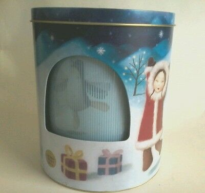 Marks & Spencer Empty Musical Animated Christmas Tin
