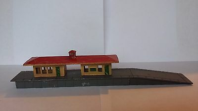 Lone Star Treble O Trains station building N Gauge train railway models scenery