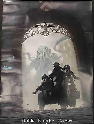 Modiphius Entertainment Achtung! Cthulhu Promo Poster - Motorcycle Chas Zip VG+