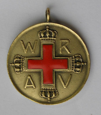 WW1 Rerman Prussian Red Cross medal gold class - rare