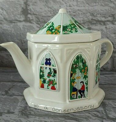 "Wade . . Collectable ""A Conservatory"" Tea Pot."