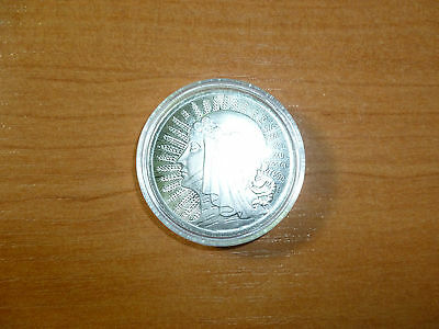 1 OUNCE Pure Silver 999 POLISH ROUND BAR  ! , Great Investment/GIFT  !!!