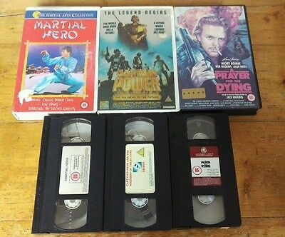 vhs video pre cert tapes