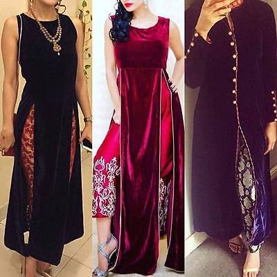 Asian pakistani clothes jamawar dress