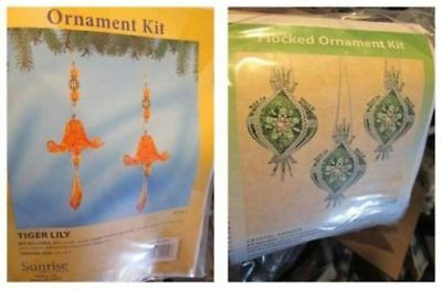 """Sunrise Ornament Kit Your Choice-Tiger Lily (2x2.75x8.5"""") OR Crystal Garden (3x4"""
